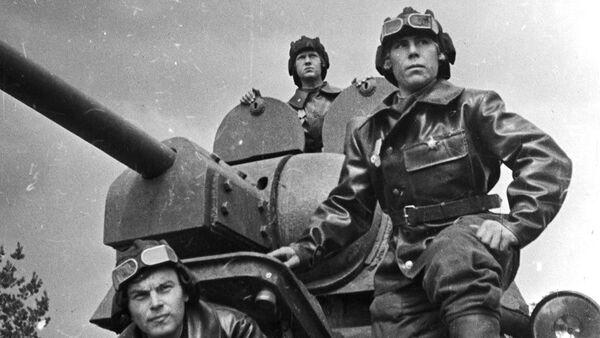 Soldados soviéticos durante la Gran Guerra Patria - Sputnik Mundo
