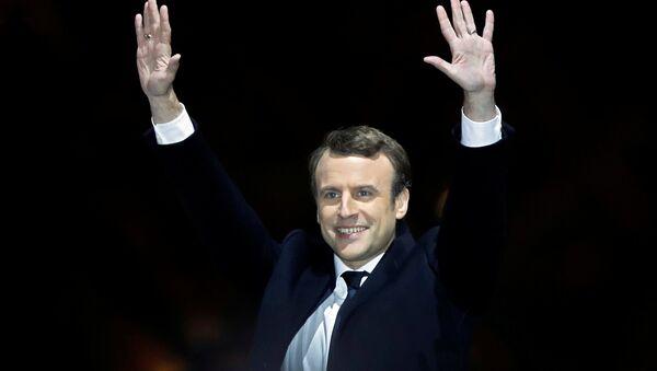 Emmanuel Macron, presidente electo de Francia - Sputnik Mundo
