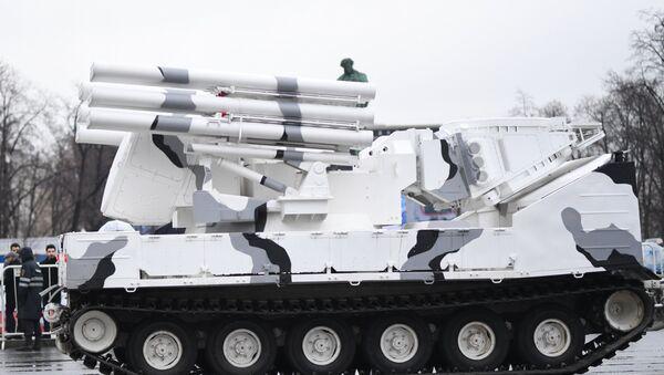 Pántsir-SA, la modificación ártica del sistema antiaéreo ruso Pántsir - Sputnik Mundo