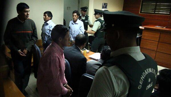 Bolivianos detenidos en Chile - Sputnik Mundo