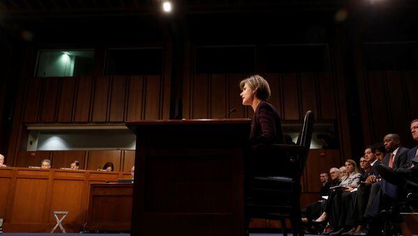 Exfiscal general de EEUU, Sally Yates - Sputnik Mundo