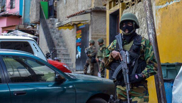 Guardia Nacional Bolivariana en en la favela Cota 905 (archivo) - Sputnik Mundo