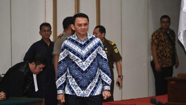 Basuki 'Ahok' Thahaja Purnama, primer gobernador cristiano de la capital indonesia en más de medio siglo - Sputnik Mundo