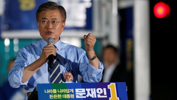 Moon Jae-in, candidato a la Presidencia de Corea del Sur - Sputnik Mundo