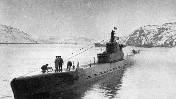 El submarino soviético K-21 - Sputnik Mundo