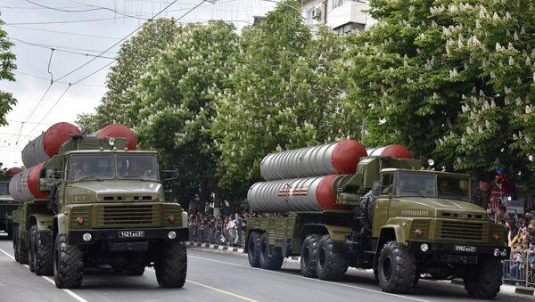 El desfile militar en Crimea, el 9 de mayo de 2017 - Sputnik Mundo