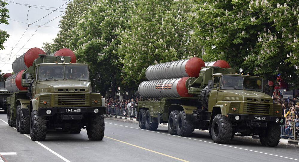 El desfile militar en Crimea, el 9 de mayo de 2017