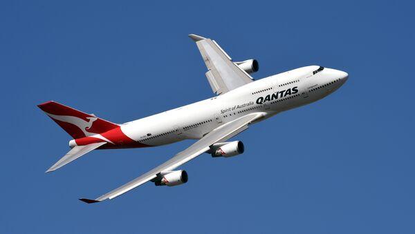Un avión de Qantas Airways - Sputnik Mundo