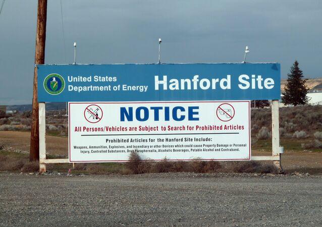 Almacén de residuos nucleares de Hanford, Washington