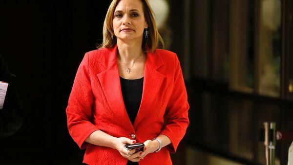 La candidata presidencial de la Democracia Cristiana (DC) de Chile, Carolina Goic - Sputnik Mundo
