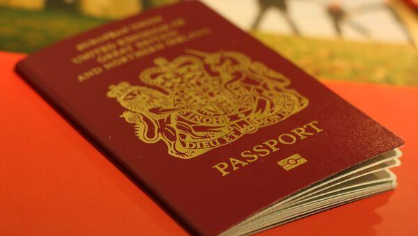 Pasaporte británico - Sputnik Mundo