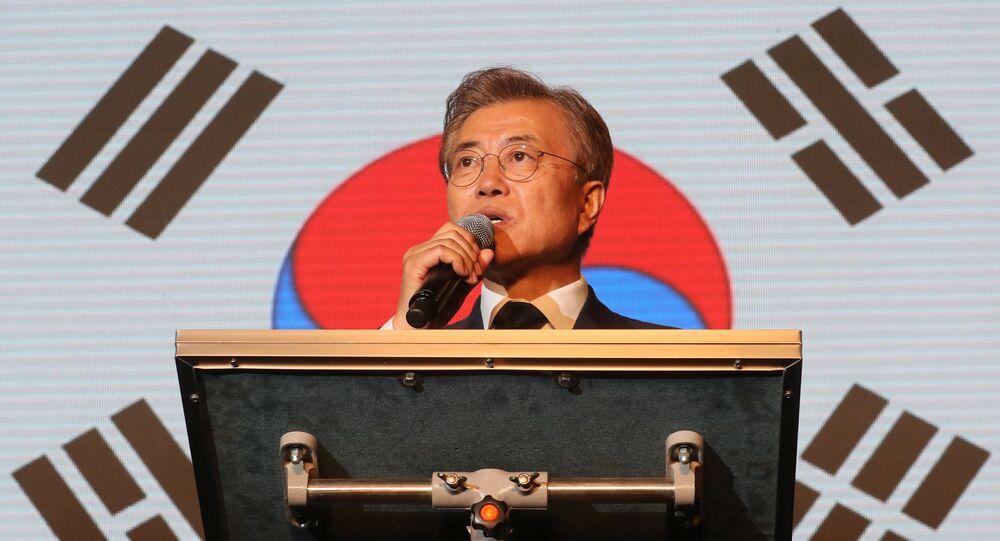Moon Jae-in, presidente de Corea del Sur (archivo)