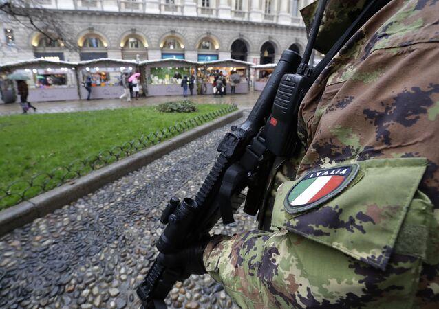 Policía de Italia (archivo)