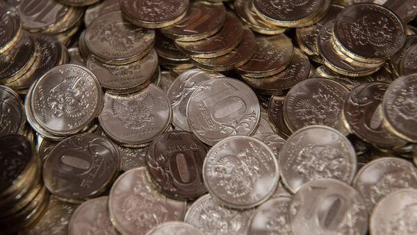 Monedas de 10 rublos - Sputnik Mundo