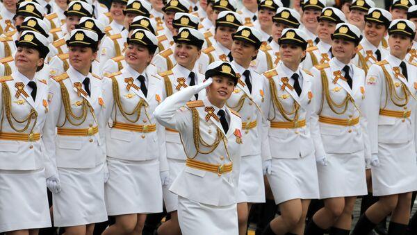 Los detalles más impactantes del desfile de la Victoria en la Plaza Roja de Moscú - Sputnik Mundo