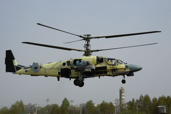El 'nacimiento' de los Aligator: así se construyen los Ka-52 - Sputnik Mundo