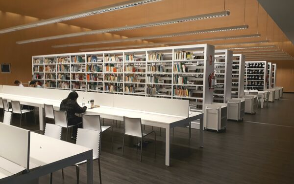 Biblioteca de la Facultad de Información y Comunicación de la Universidad de la República de Uruguay. - Sputnik Mundo