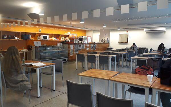 El espacio de alimentación promueve la integración entre estudiantes universitarios - Sputnik Mundo