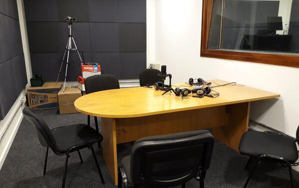 Estudio de radio de la FIC, Uruguay - Sputnik Mundo