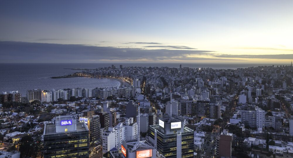 Montevideo, la capital de Uruguay