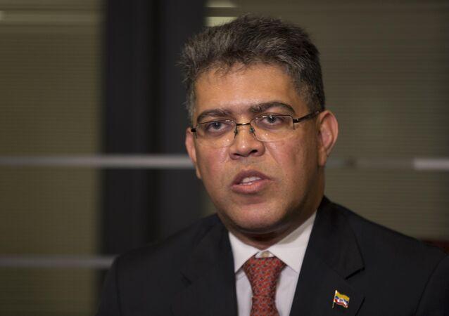 Elías Jaua, exministro de Educación de Venezuela (archivo)