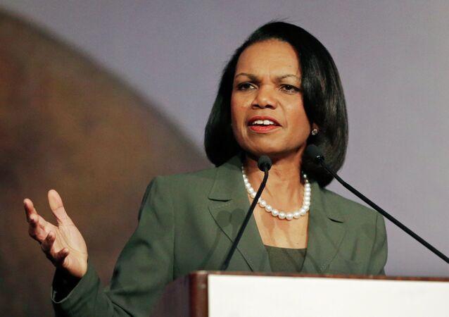 Condoleezza Rice, ex secretaria de Estado de EEUU