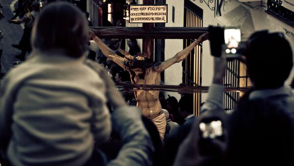 Crucifixión - Sputnik Mundo