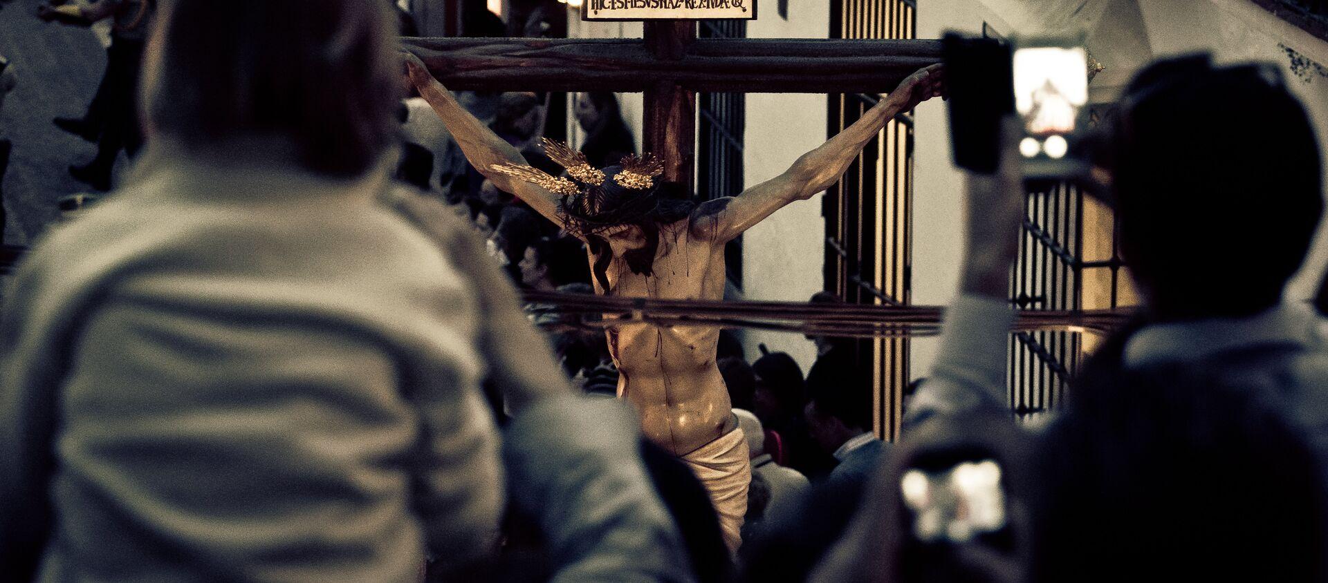 Crucifixión - Sputnik Mundo, 1920, 30.10.2020