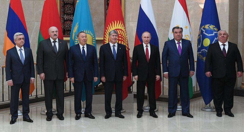 Los altos representantes de los países miembros de OTSC (archivo)
