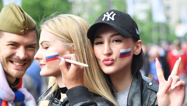 Día de la Victoria, elecciones presidenciales y arte: un resumen fotográfico de la semana - Sputnik Mundo