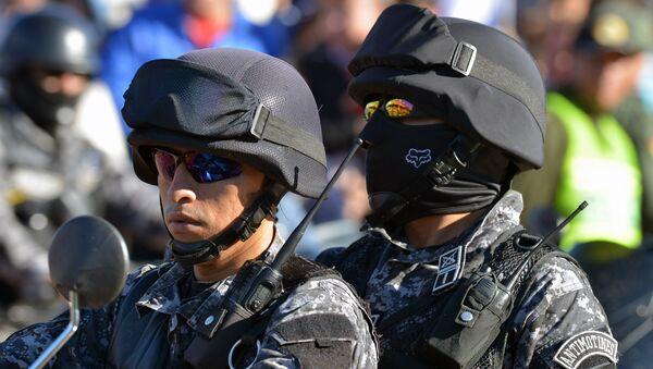 Policía boliviana - Sputnik Mundo