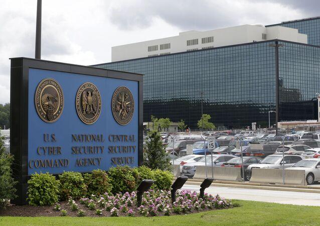 Sede de agencia de Seguridad Nacional (NSA) estadounidense (archivo)