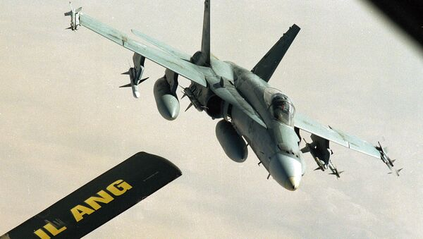 Caza canadiense CF-18 (archivo) - Sputnik Mundo