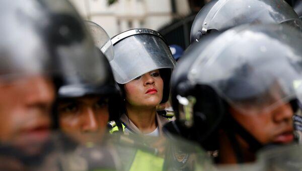 Policía Nacional Bolivariana - Sputnik Mundo