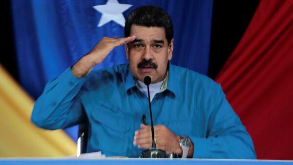 Nicolás Maduro, presidente de Venezuela (archivo) - Sputnik Mundo