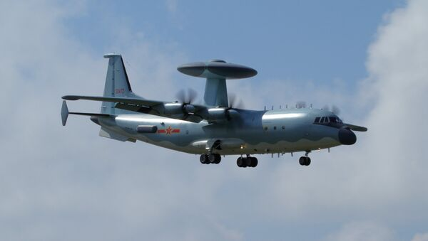 El avión chino KJ-500 (archivo) - Sputnik Mundo