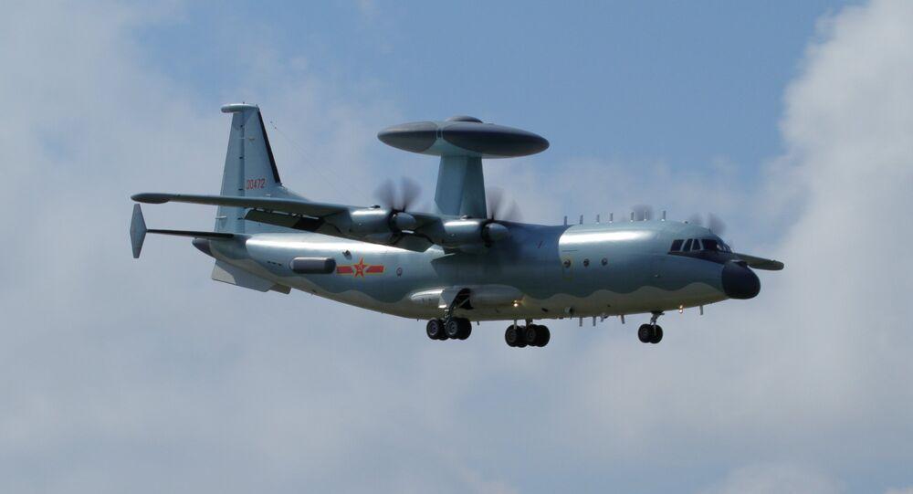 Un avión chino (imagen referencial)