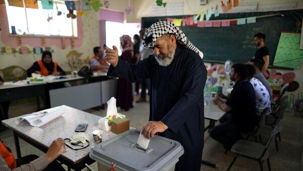 Elecciones municipales palestinas - Sputnik Mundo