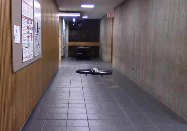 Un dron aprende a volar por sí mismo (captura de pantalla)