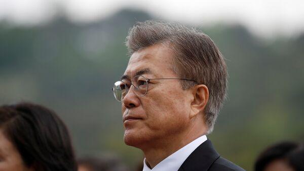 Moon Jae-In, presidente de Corea del Sur (archivo) - Sputnik Mundo