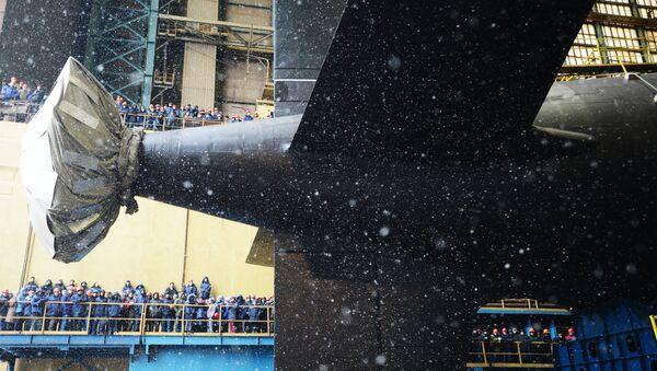 La botadura del submarino Kazan - Sputnik Mundo