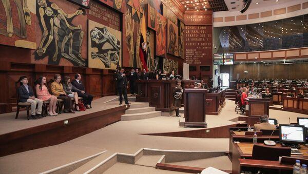 Asamblea Nacional del Ecuador (archivo) - Sputnik Mundo