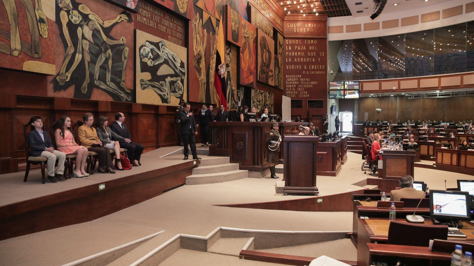 Asamblea Nacional del Ecuador (archivo) - Sputnik Mundo, 1920, 24.04.2021
