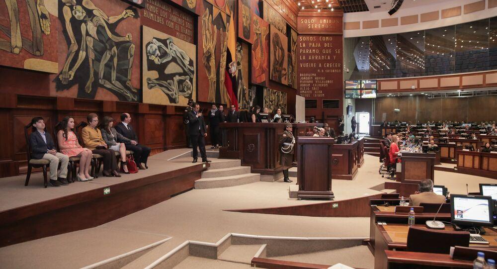 Asamblea Nacional de Ecuador (archivo)