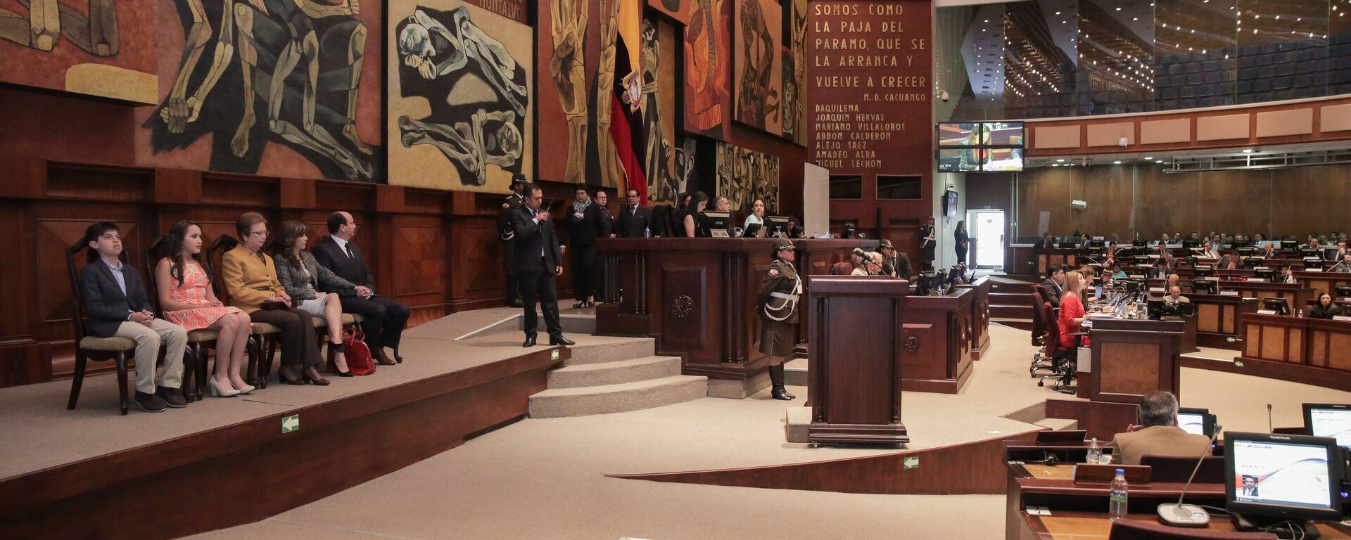 Asamblea Nacional del Ecuador (archivo) - Sputnik Mundo, 1920, 06.05.2021