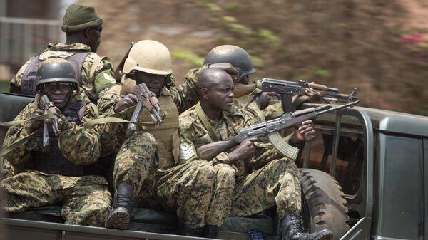 Soldados de Uganda (archivo) - Sputnik Mundo