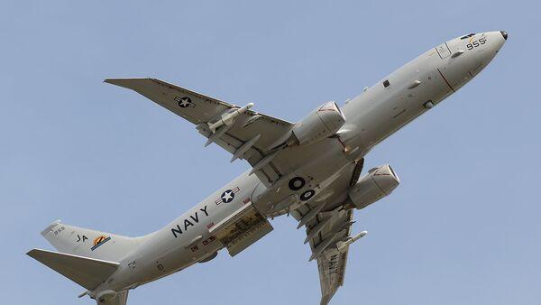 Un avión espía P-8A Poseidon (archivo) - Sputnik Mundo