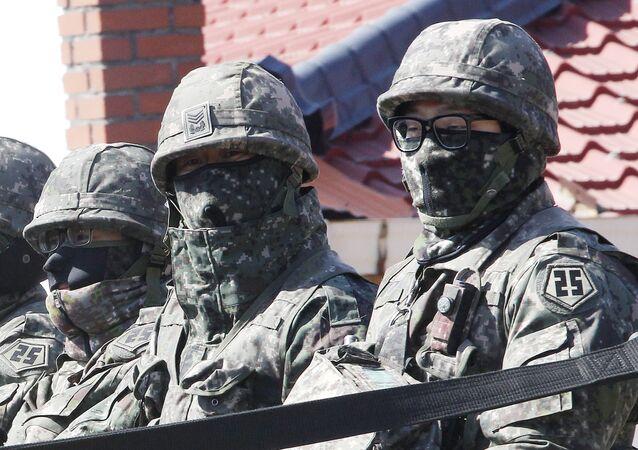 Militares surcoreanos