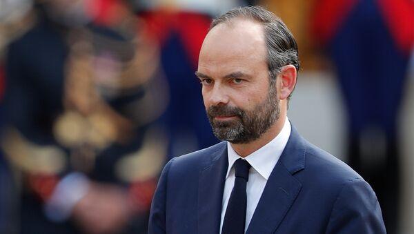 Edouard Philippe, primer ministro de Francia - Sputnik Mundo