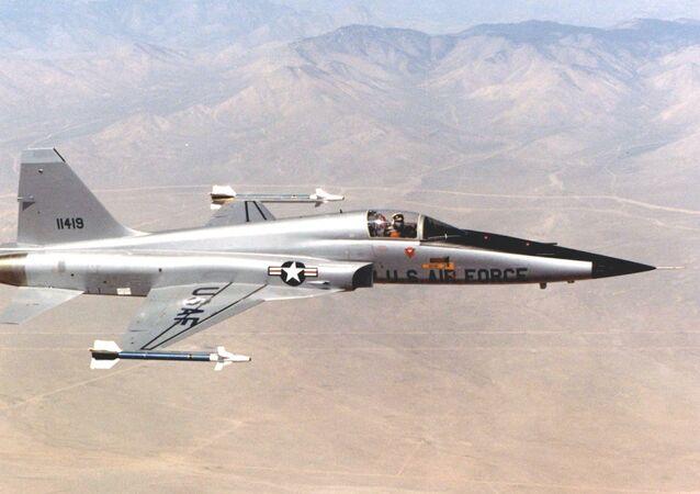 Un F-5E Tiger II (archivo)